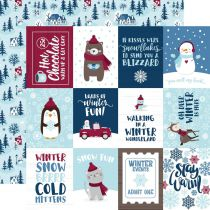 PAPIER IMPRIME MY FAVORITE WINTER - 3x4 Journaling Cards