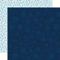 PAPIER IMPRIME MY FAVORITE WINTER - Blue Winter