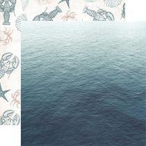 PAPIER IMPRIME UNCHARTED WATERS - Oceanic