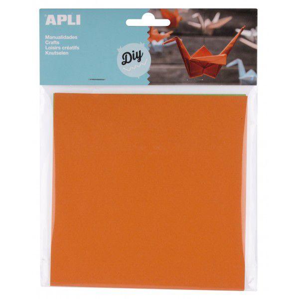 Papier Origami 15X15 cm Couleurs