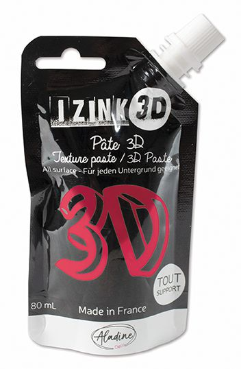 PATE DECORATIVE IZINK 3D GERANIUM