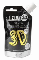 PATE DECORATIVE IZINK 3D NACREE CITRONELLA