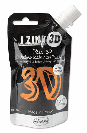PATE DECORATIVE IZINK 3D NACREE MANGO