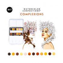 PEINTURES AQUARELLES - Watercolor Confections Complexion