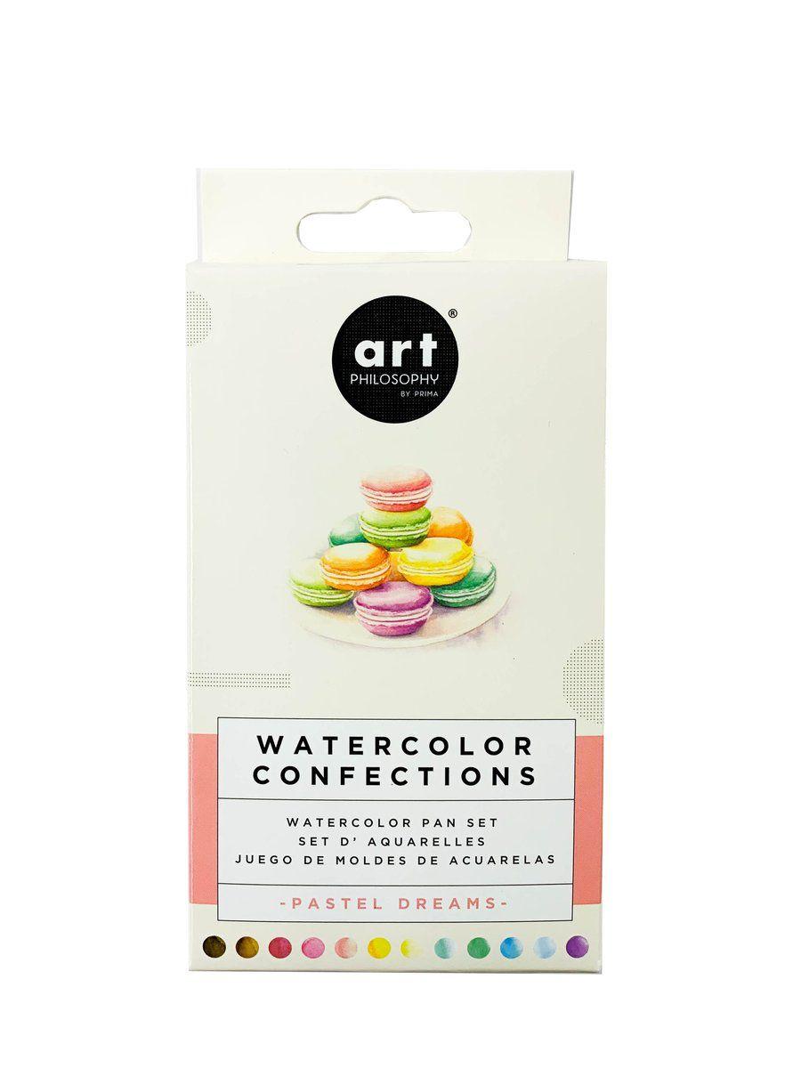 PEINTURES AQUARELLES - Watercolor Confections Pastel Dreams