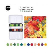 PEINTURES AQUARELLES - Watercolor Confections terrain