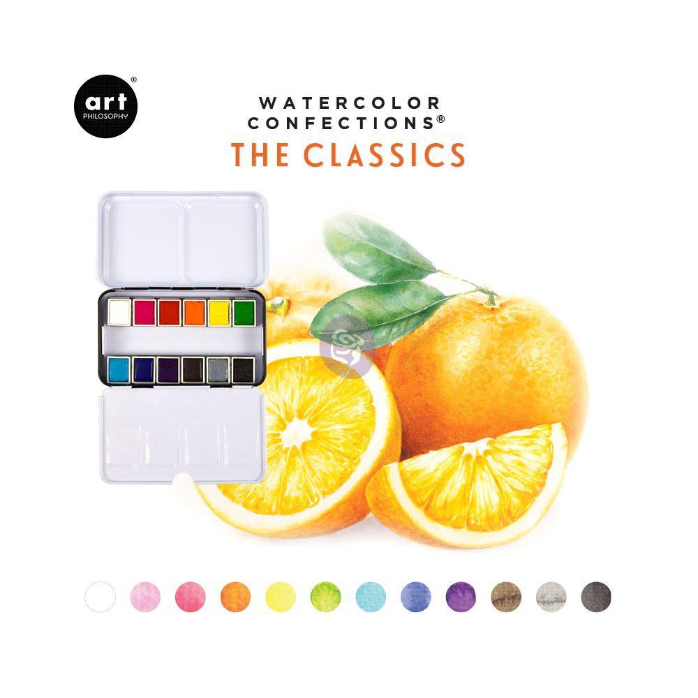 PEINTURES AQUARELLES - Watercolor Confections The Classics