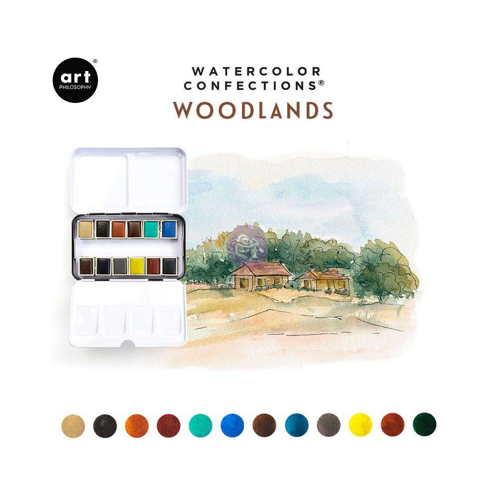 PEINTURES AQUARELLES - Watercolor Confections Woodlands