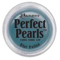Perfect pearl pigment powder - blue patina