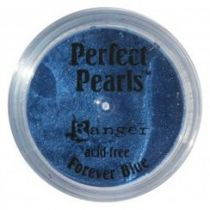 Perfect pearl pigment powder - forever blue
