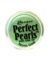 Perfect pearl pigment powder - forever green