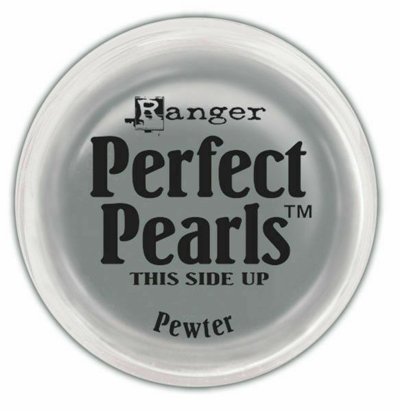 Perfect pearl pigment powder - pewter