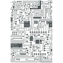 PLAQUE A EMBOSSER 3D Circuit