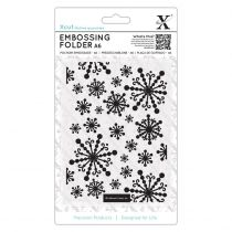 PLAQUE A EMBOSSER FLOCONS - Beautiful Snowflakes