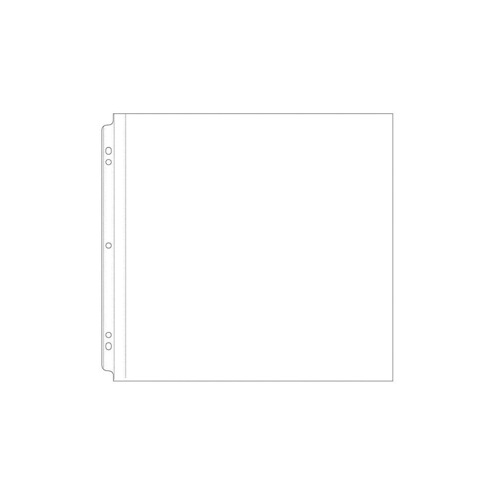 POCHETTES PERFOREES POUR ALBUM 30.5 x 30.5 cm