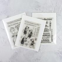 Pochettes transparentes de rangement 50/Pkg Small - 14,5x19 cm
