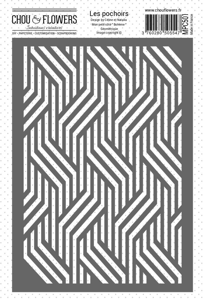 POCHOIR - Bohème Géométrique