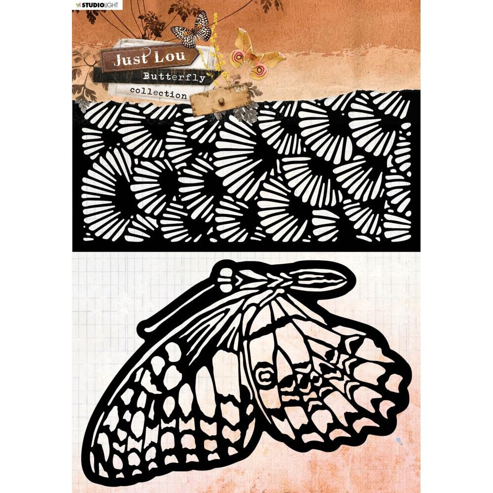 Pochoir - collection Just Lou Butterfly Nr.13