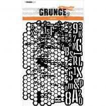 Pochoir - Grunge MASK n°16