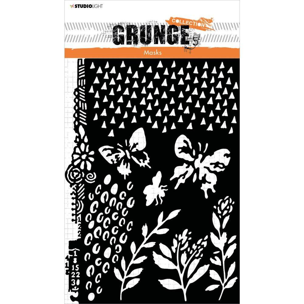 Pochoir - Grunge MASK n°18