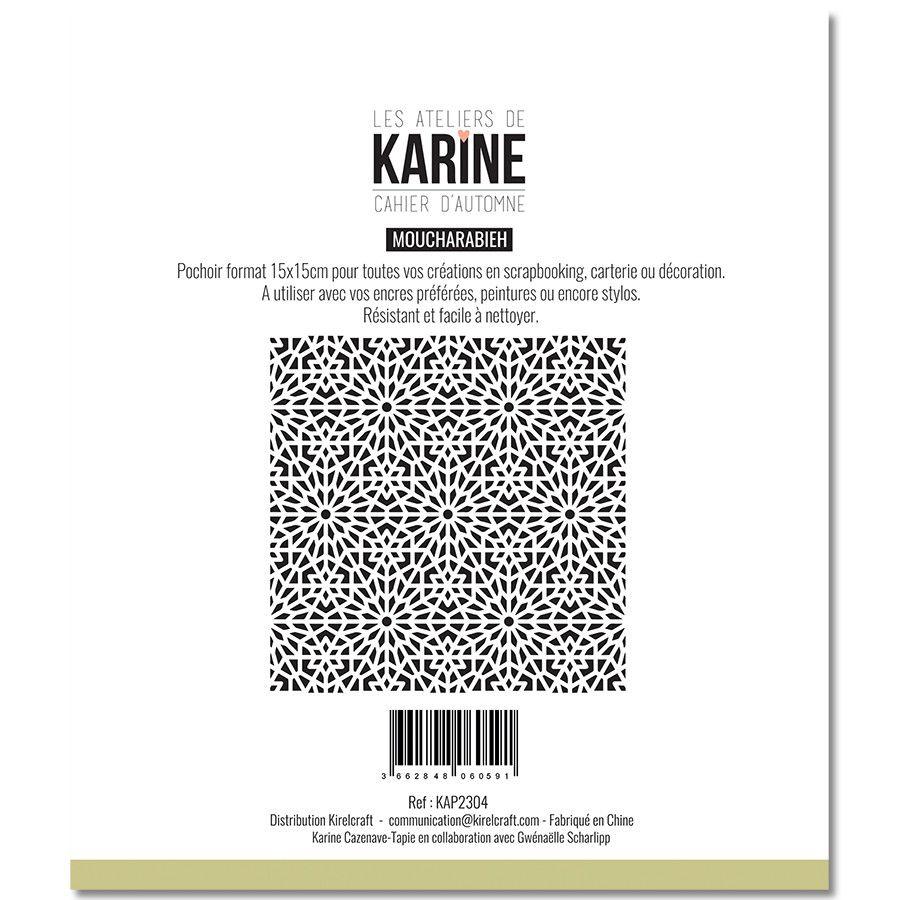 Pochoir Moucharabieh - Les Ateliers de Karine
