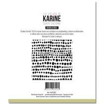 Pochoir Tout en rondeur - Les Ateliers de Karine