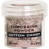 POUDRE A EMBOSSER SPECKLE ROSE - COTTON CANDY