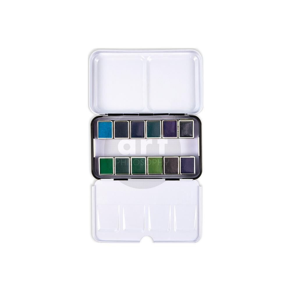 Prima Watercolor Confections Watercolor Pans 12/Pkg current