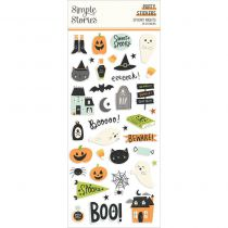 Puffy stickers - spooky nights