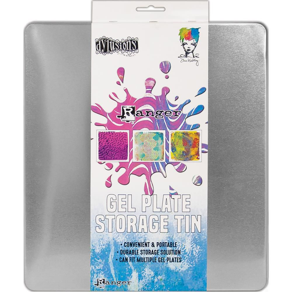 Ranger Gel Press Plate Storage Tin