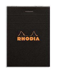 RHODIA BLOC NOIR 74 X 105 MM
