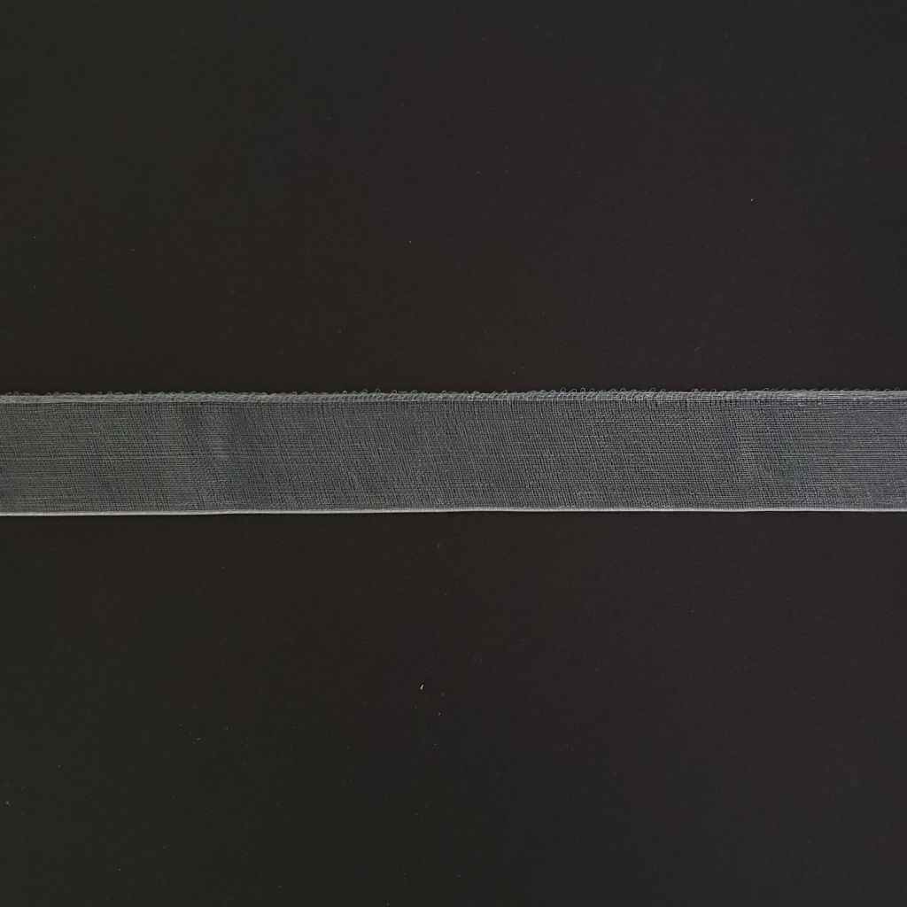 RUBAN 15 MM - Argent