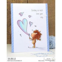 RUBBER STAMP BUBBLE DANDY LION
