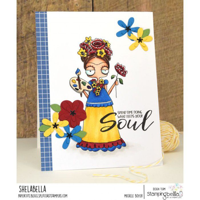 RUBBER STAMP OODBALL FRIDA