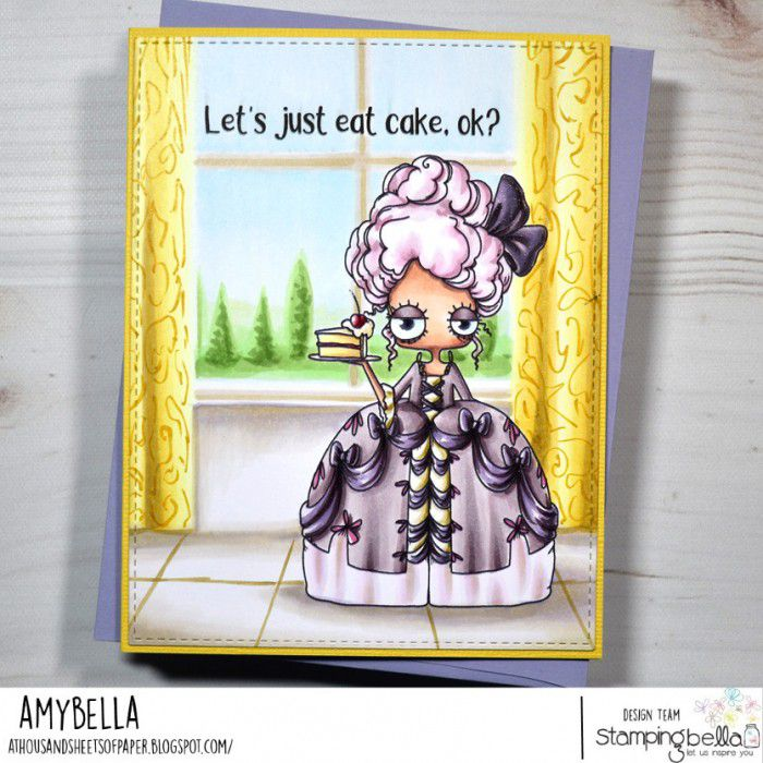 RUBBER STAMP OODBALL MARIE