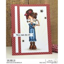 RUBBER STAMP OODBALL ROSIE