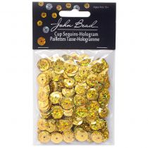 SEQUINS PAILLETTES RONDS 10 MM GOLD