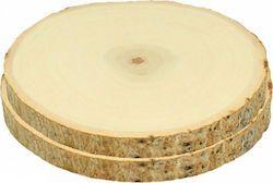 Set 2 rondelles - 10 à 14 cm - bois