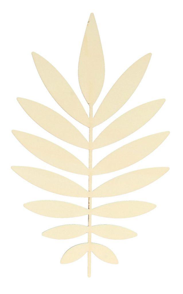SILHOUETTE FEUILLE DEEP GREEN 1