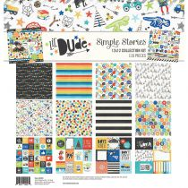 "Simple Stories Collection Kit 12""X12\"" Lil\' Dude"