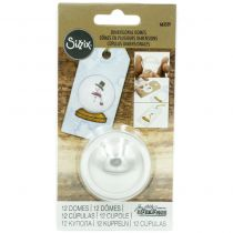 Sizzix 12 Dimensional Domes - 1.25""