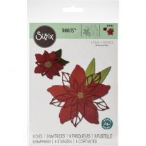 SIZZIX DIE THINLITS POINSETTIA