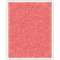 Sizzix Embossing Folder Roses