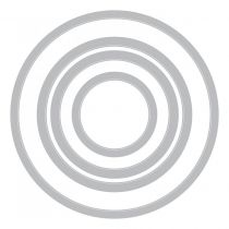 Sizzix Framelits Dies 4/Pkg Circles