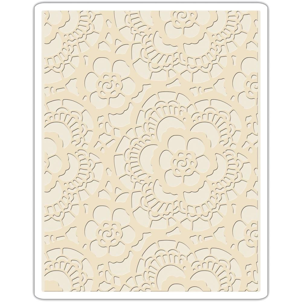 Sizzix Texture Fades Embossing Folder Lace