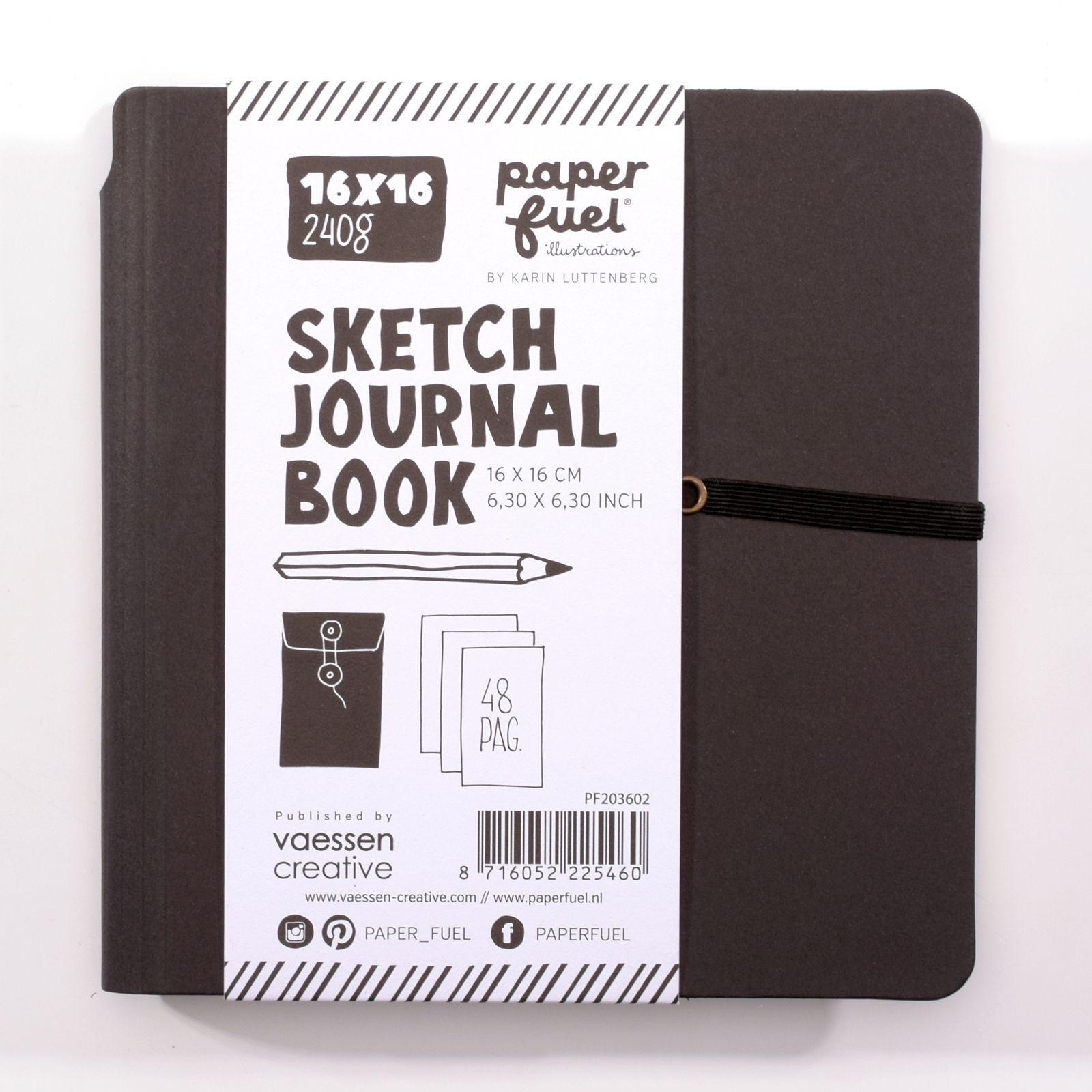 SKETCH JOURNAL BOOK 16X16 CM