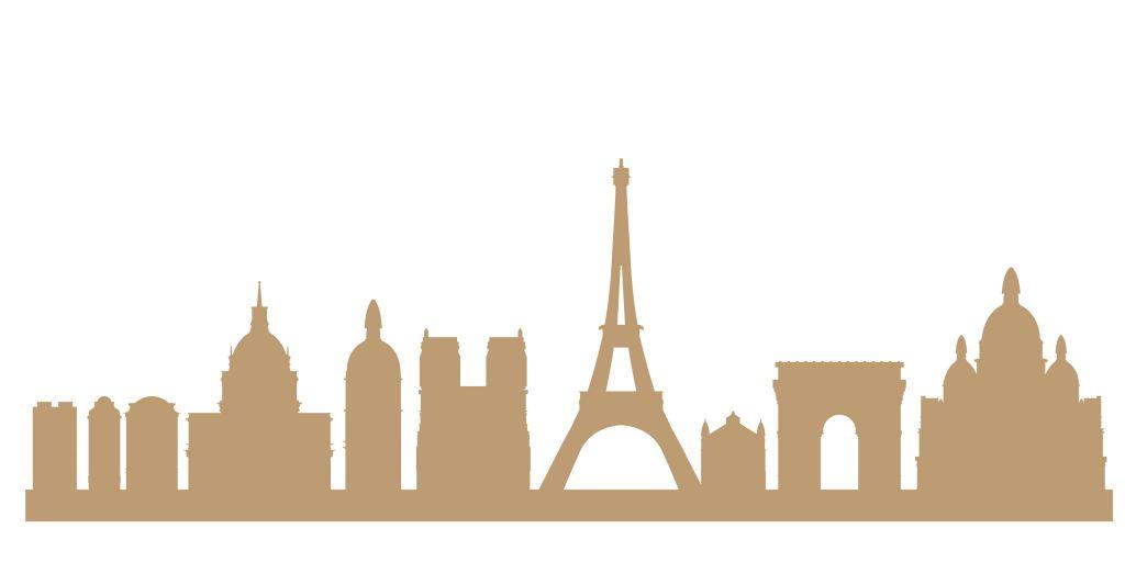 SKYLINE PARIS GEANT MDF 3 MM