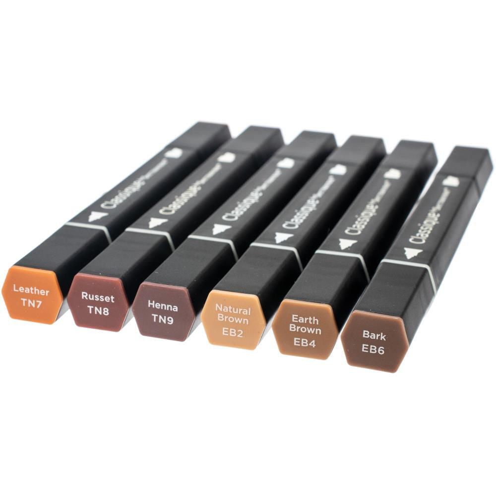 Spectrum Noir Classique Alcohol Markers - Browns
