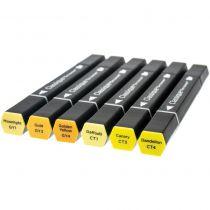 Spectrum Noir Classique Alcohol Markers - Yellows