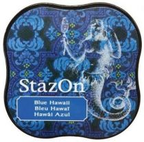 STAZON MIDI INK PAD BLUE HAWAII